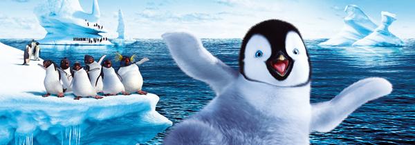 Happy Feet rompiendo el hielo-Desracado
