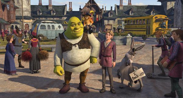 Shrek Tercero-twitter