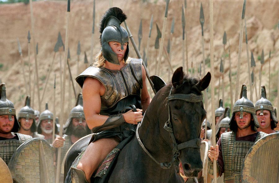 Cómo se rodó Troya? - Canal Hollywood