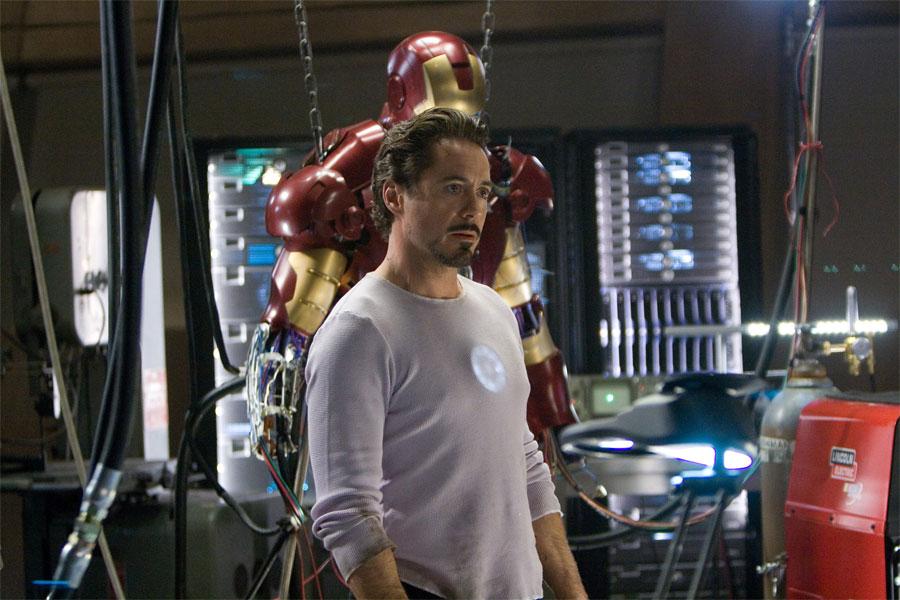 Iron Man. Hollywood Boulevard