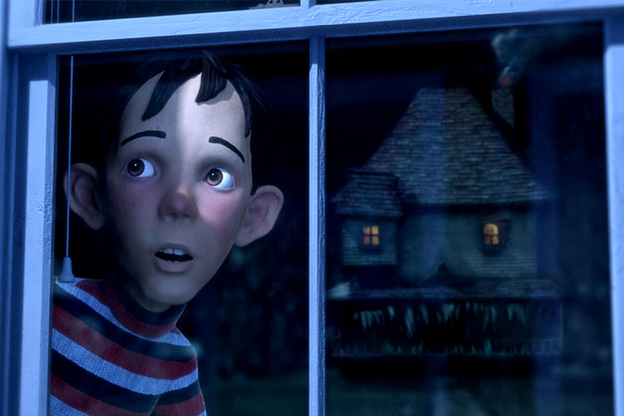 Monster House. Hollywood Family