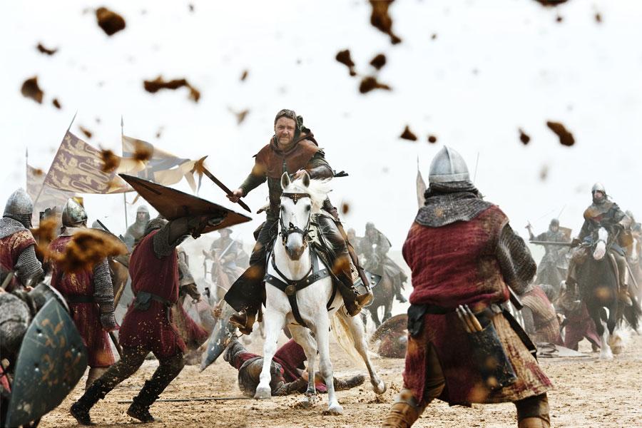 Robin Hood. Batalla