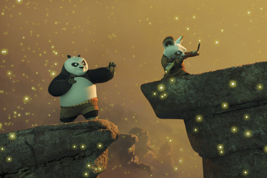 Hollywood Family. Kung Fu Panda