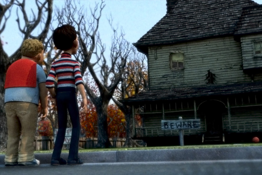 Los Reyes de HWD. Monster House