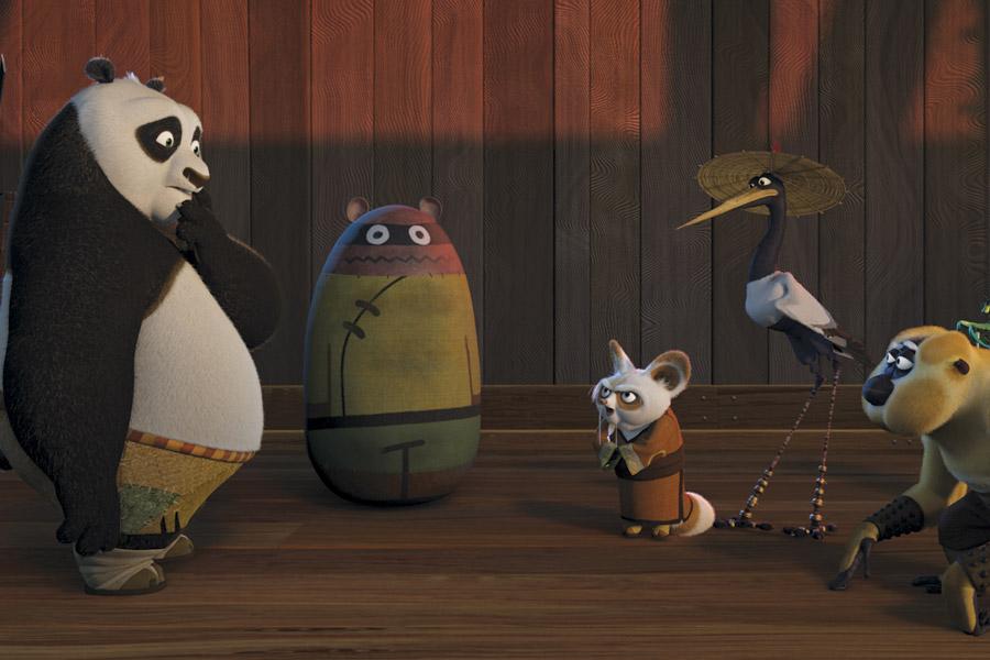 Cine en familia. Kung Fu Panda