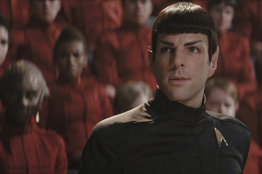 Enterprise. Spock