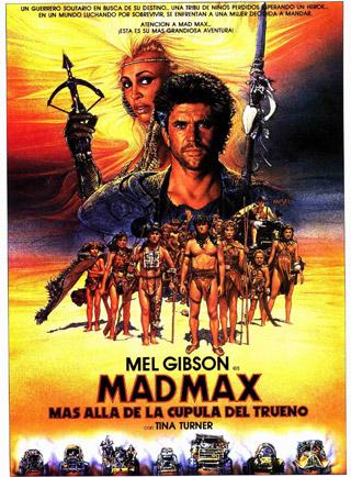 Mad Max más allá de la cúpula del trueno
